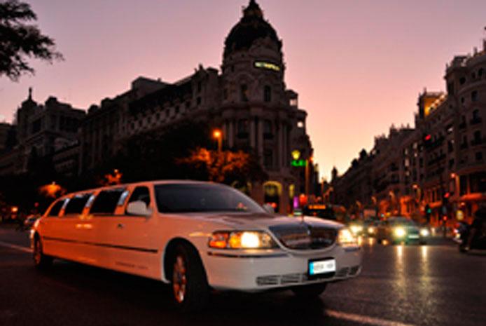 Servicio limusinas baratas Madrid