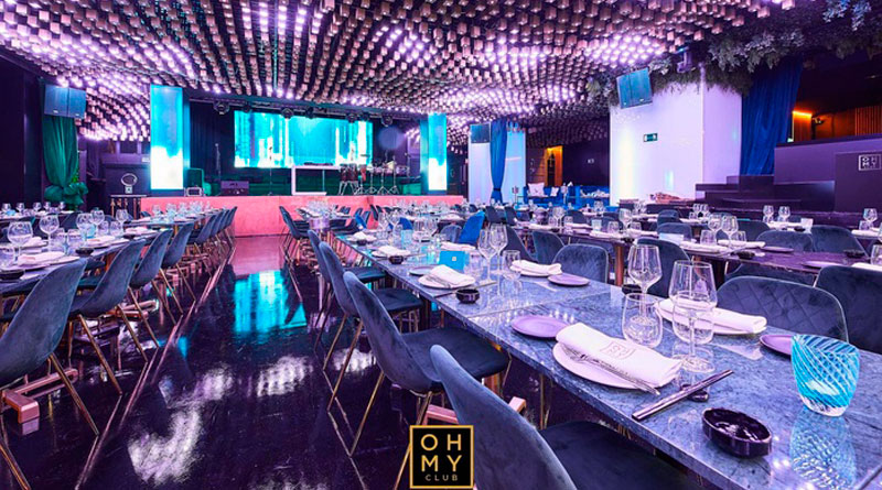 Cena de fin de año en Oh My Club Madrid