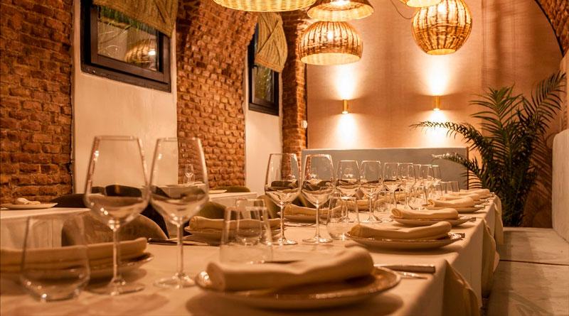 Fiesta de Nochevieja en el restaurante Arrabal Madrid