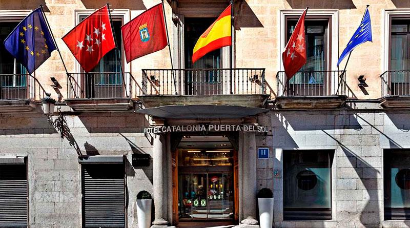 Fin de año en el hotel Catalonia Puerta del Sol