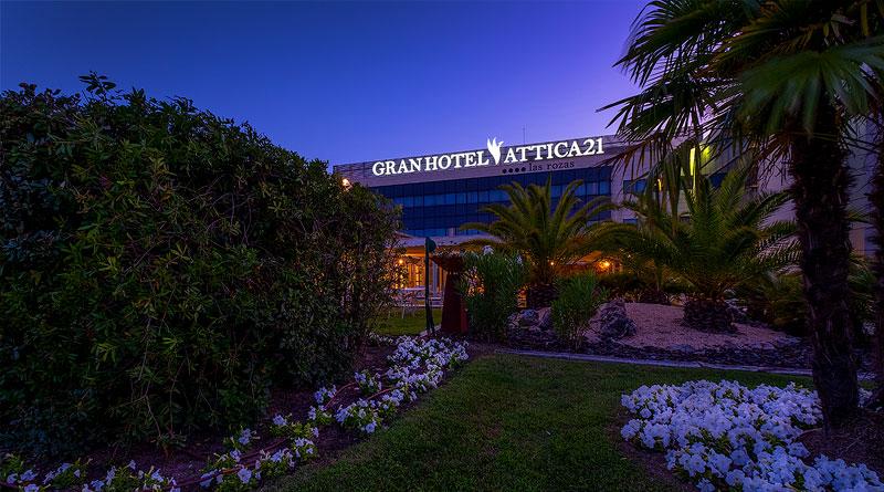 Hotel Attica21 las Rozas Nochevieja en Madrid
