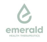 Emerald Health Therapeutics, Inc.