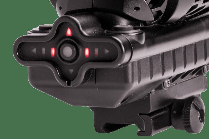Gunshot detector device closeup