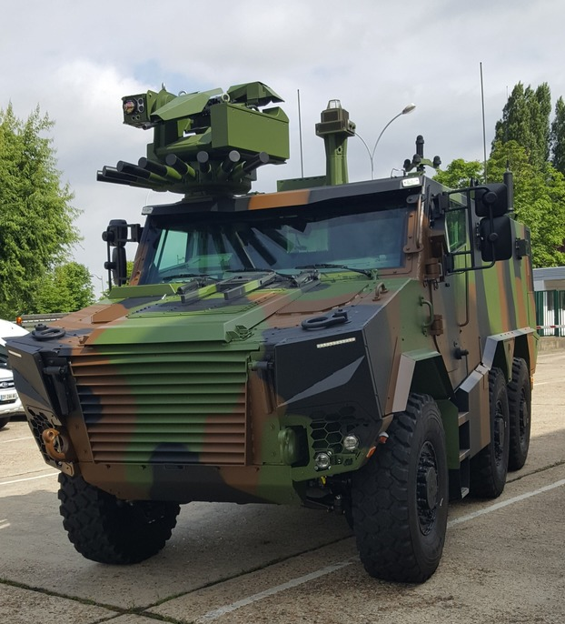 Frecnh army vehicle protection