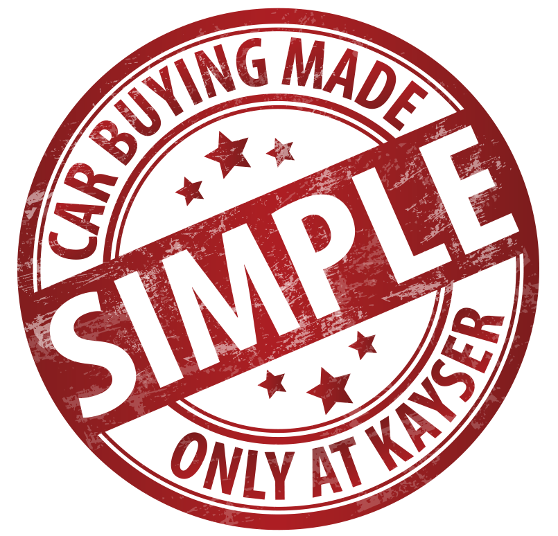 Kayser Car Buying Made Simple stamp