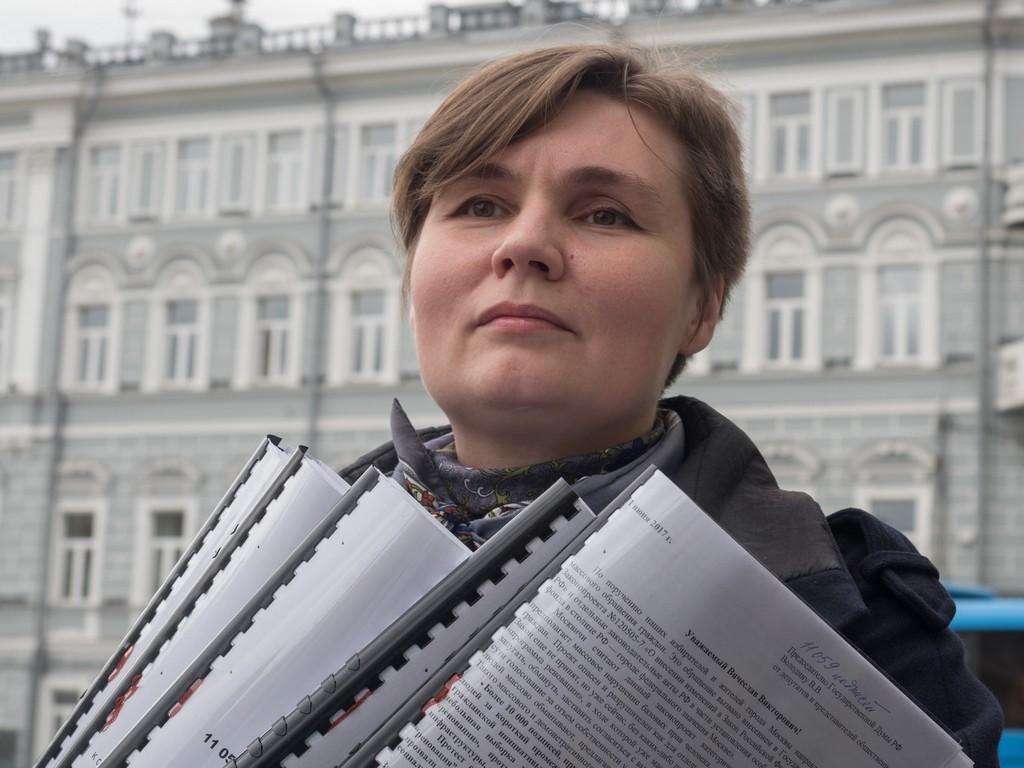 В Госдуму принесли более 11 тысяч подписей против реновации