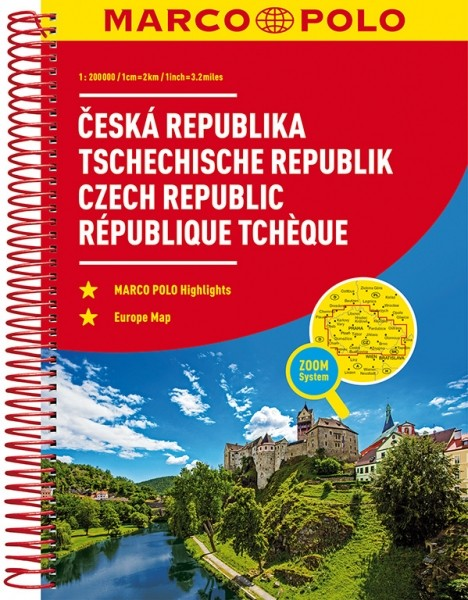 MP Reiseatlas Tschech.Republik