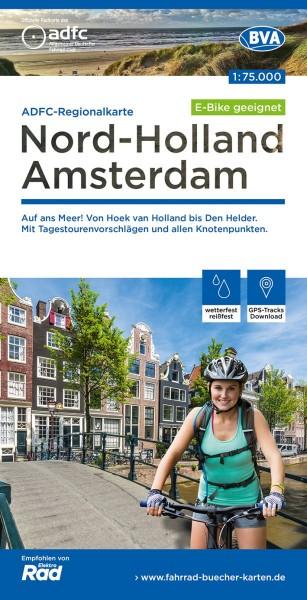 ADFC Regionalkarte NL Nord-Holland/Amsterdam