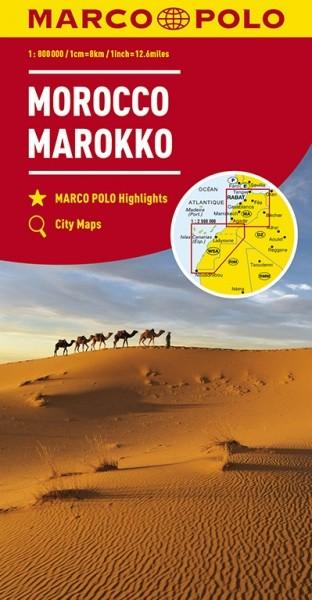 MP Kontinentalkarte Marokko