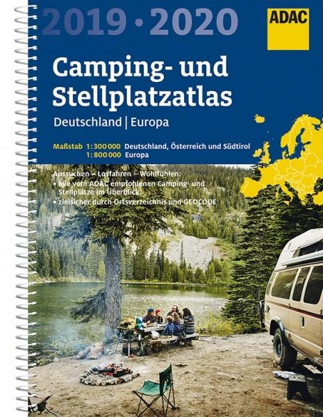 Camping- Stellplatzatlas 19/20