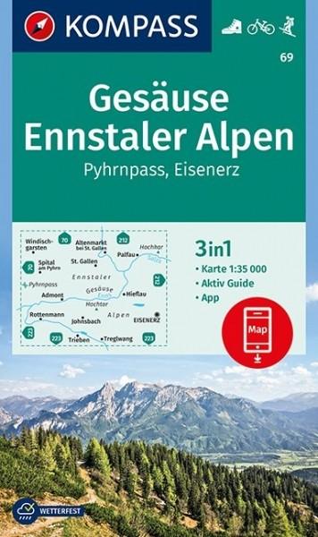 Kompass WK Gesäuse/Ennstaler Alpen