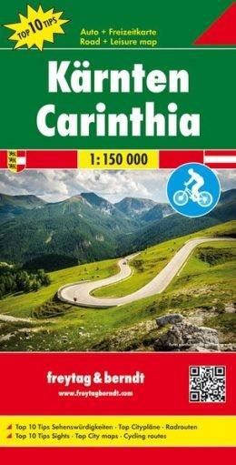 F&B Autokarte + Freizeitkarte Kärnten