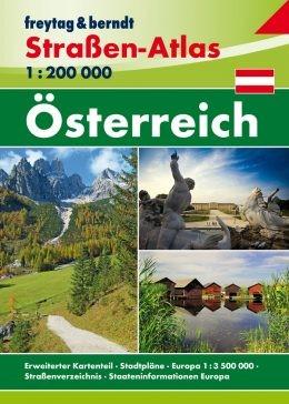 F&B Straßen-Atlas Österreich