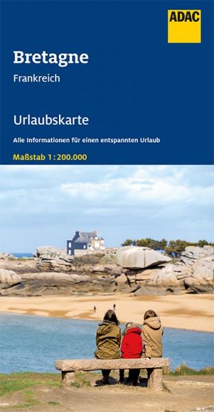 ADAC Urlaubskarte Bretagne