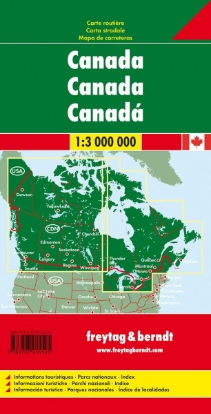 F&B Autokarte Kanada
