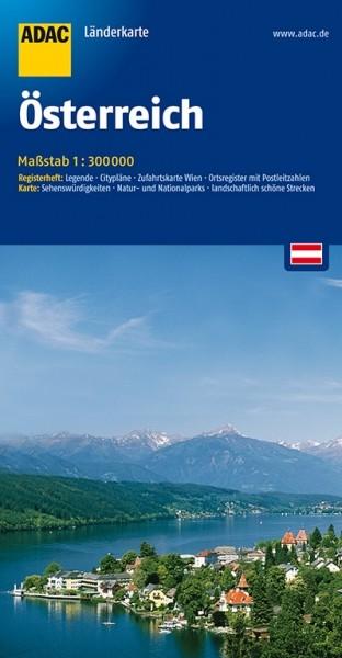 ADAC Länderkarte Österreich