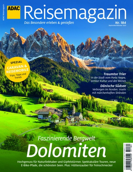 ADAC Reisemagazin 08/21 Dolomiten