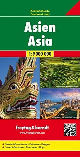 F&B Kontinentkarte Asien