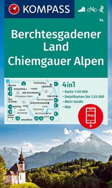 Kompass WK Berchtesgadener Land, Chiemgauer Alpen