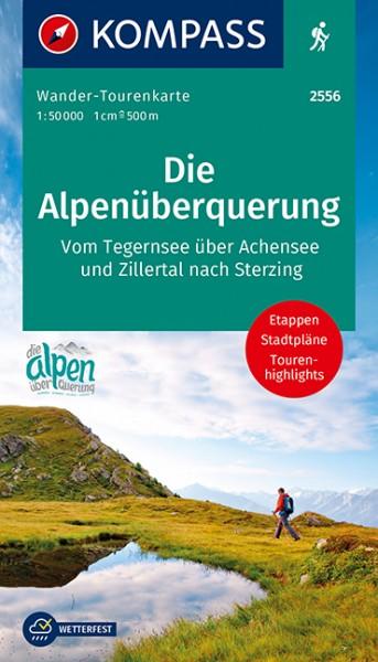 KOMPASS Die Alpenüberquerung