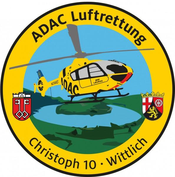 ADAC Luftrettung Fanpatch Christoph 10-Wittlich