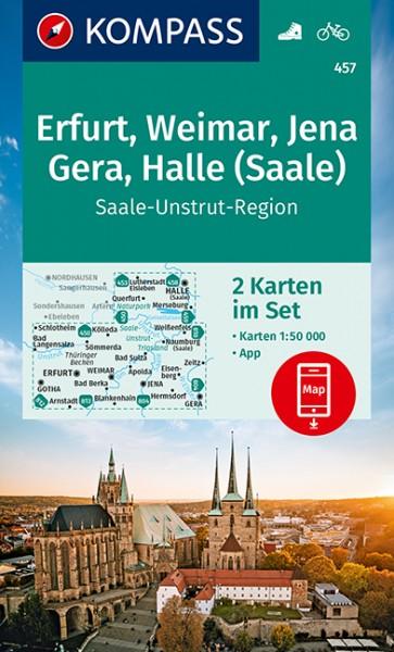Kompass WK Erfurt, Weimar, Jena, Gera