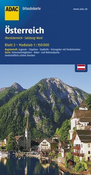 ADAC Urlaubskarte Oberösterreich