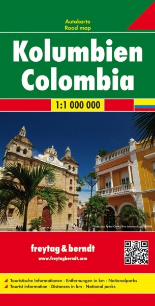 F&B Autokarte Kolumbien