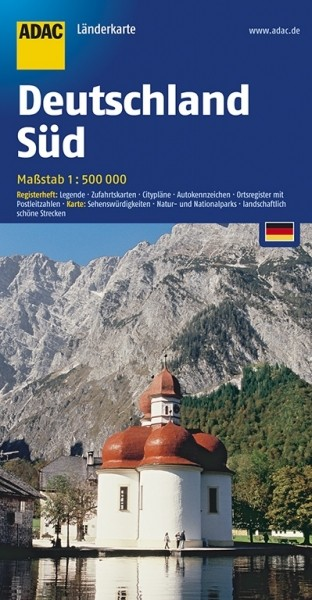 ADAC LK Süd-Deutsch. 1:500.000