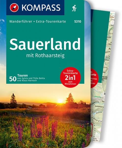 KOMPASS Wanderführer Sauerland mit Rothaarsteig