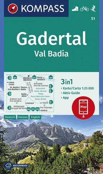 Kompass WK Gadertal-Val Badia