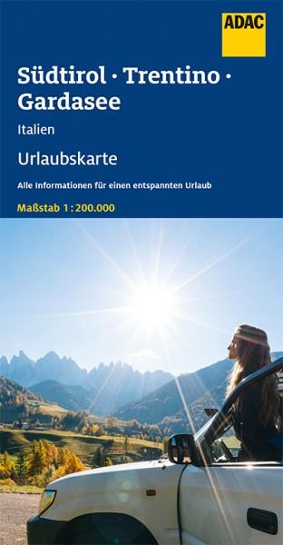 ADAC Urlaubskarte Südtirol, Trentino, Gardasee