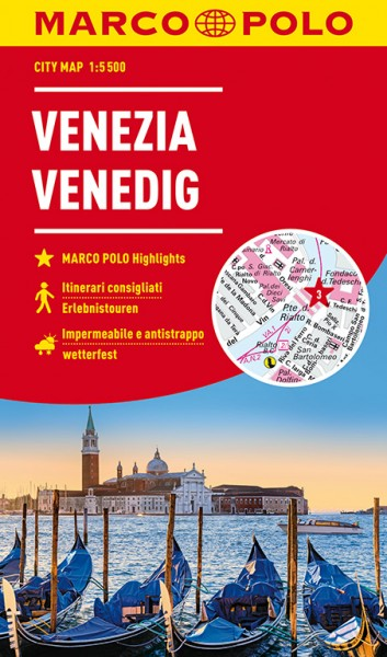 Marco Polo Cityplan Venedig