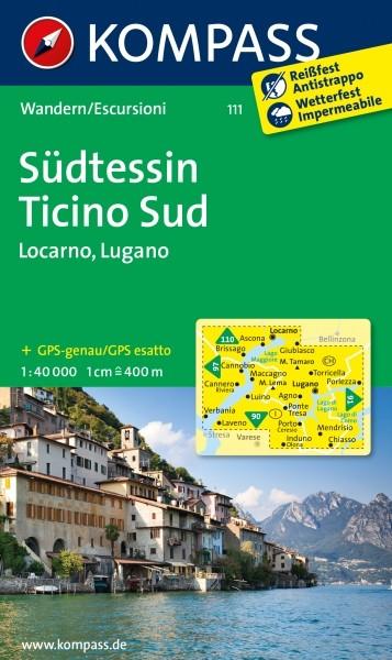 Kompass WK Südtessin / Locarno