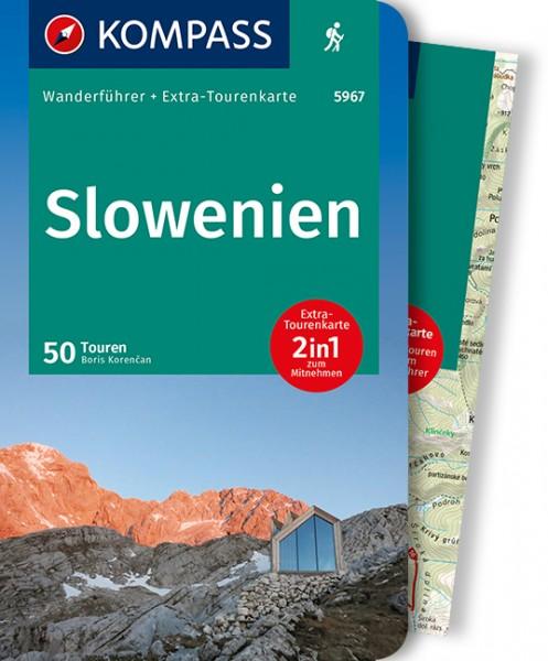 KOMPASS Wanderführer Slowenien