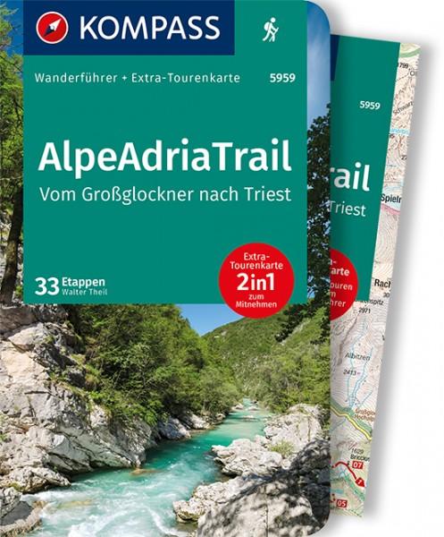KOMPASS Wanderführer AlpeAdriaTrail