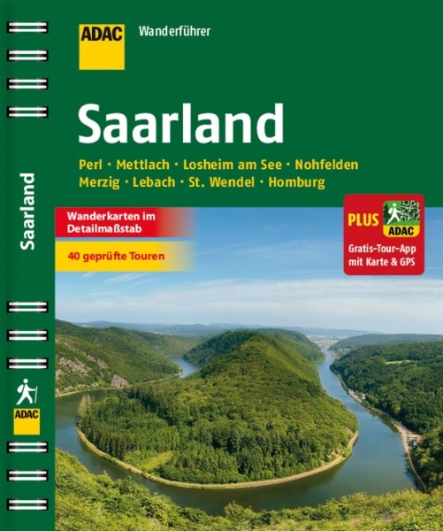 ADAC Wanderführer Saarland