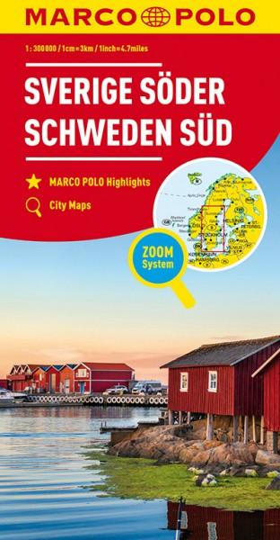 MARCO POLO Regionalkarte Schweden Süd