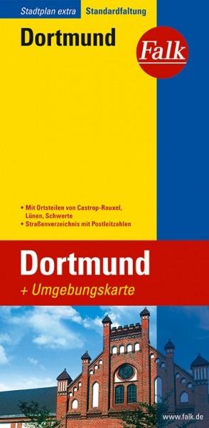 Falk Stadtplan Extra Dortmund
