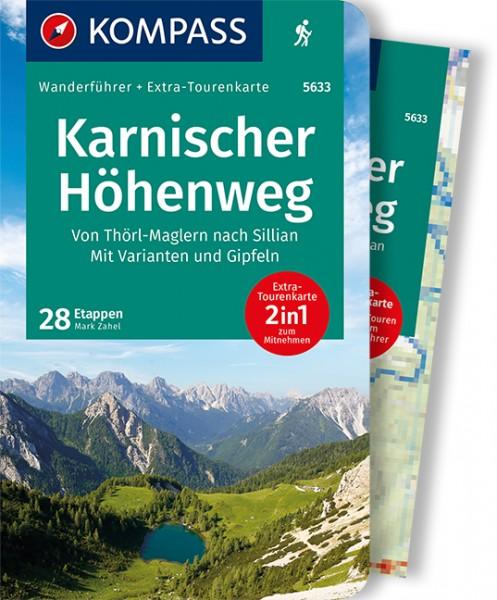 KOMPASS Wanderführer Karnischer Höhenweg