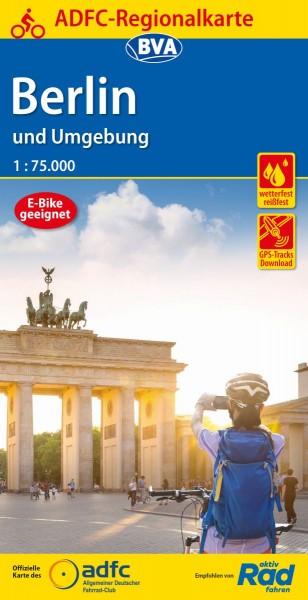 ADFC Regionalkarte Berlin und Umgebung