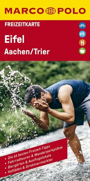 MARCO POLO Freizeitkarte Eifel, Aachen, Trier