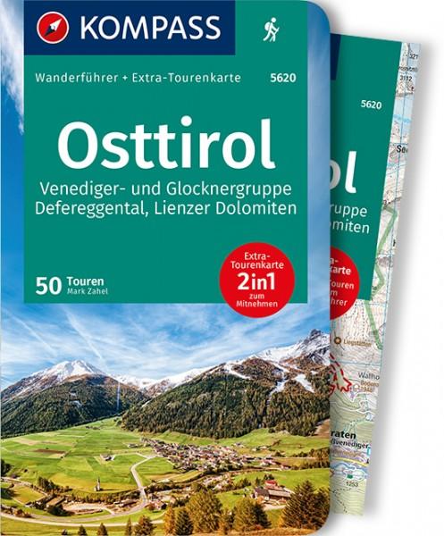 KOMPASS Wanderführer Osttirol mit Karte