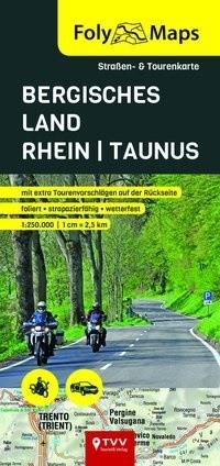 FolyMaps Bergisches Land -Rhein -Taunus 1:250 000
