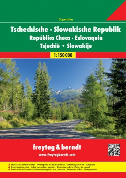 F&B Tschechische, Slowakisch Rep. Autoatlas