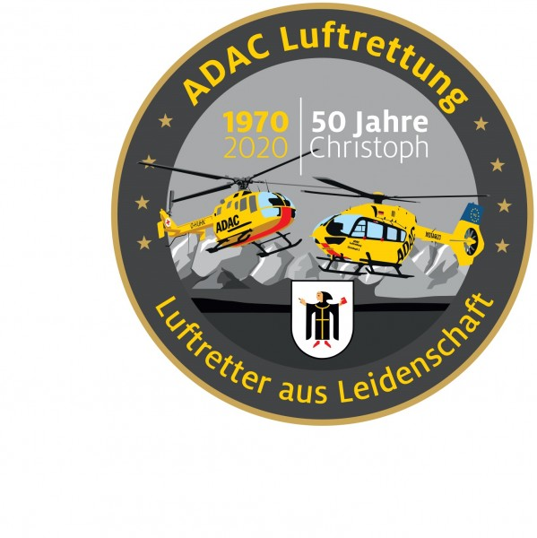 36-teiliges Aufkleberset der ADAC Luftrettung