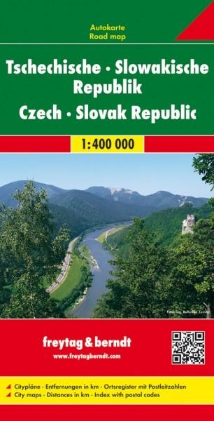 F&B Autokarte Tschechische - Slowakische Republik