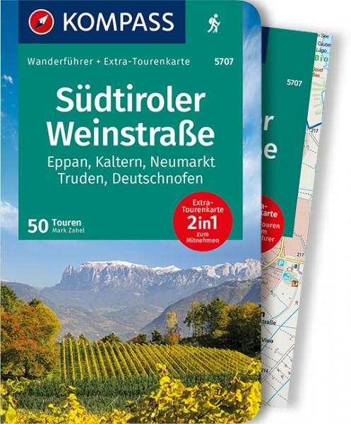 KOMPASS Wanderführer Südtiroler Weinstraße