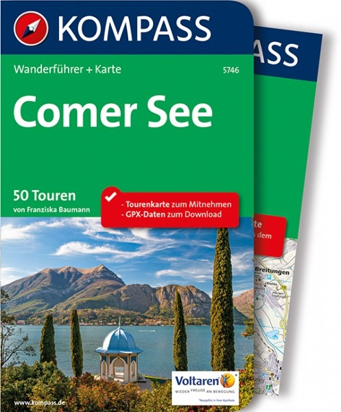 Kompass Wanderführer Comer See