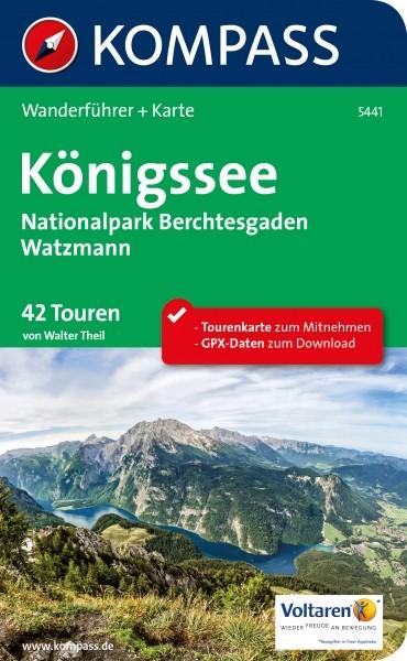Kompass Wanderführer Königssee